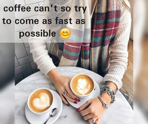 blogger, coffee, and quote image