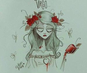 virgo and zodiac image