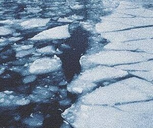 ice, pale, and water image