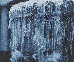 winter, aesthetic, and ice image