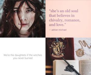 gryffindor, brujas, and harry potter image