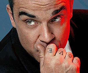 boy, celebrity, and Robbie Williams image