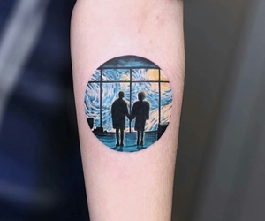 alternative, painting, and tattoo image