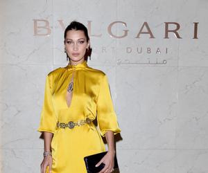 celebrity, yellow dress, and fashion image