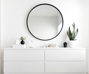 white, mirror, and minimalist image
