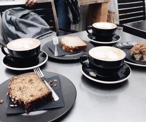coffee, dessert, and latte image