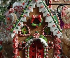 christmas, galleta, and comida image
