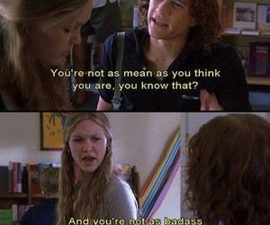 10 things i hate about you, quotes, and love image