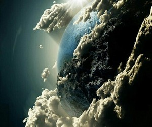 earth, clouds, and space image