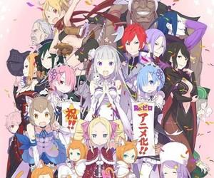 anime, anime girl, and rem image