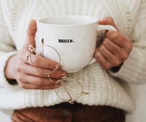 fashion, coffee, and glasses image
