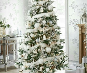 christmas, winter, and white image
