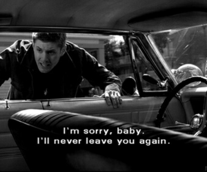 supernatural, dean, and impala image