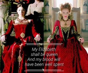 anne boleyn, costume drama, and elizabeth I image