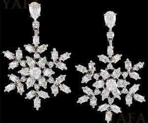 diamond, earrings, and jewellery image