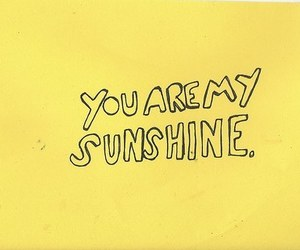 yellow, sunshine, and quotes image