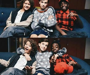 stranger things, cast, and dustin image