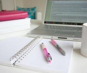 school, pen, and study image