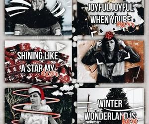 complex, edits, and christmas theme image