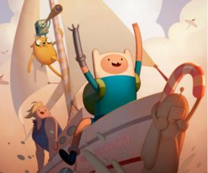 finn, adventure time, and hora de aventura image
