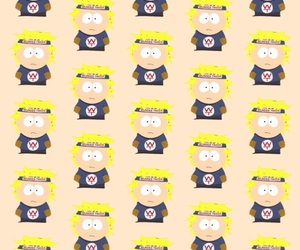iphone, pattern, and South park image