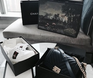 chanel, gucci, and fashion image