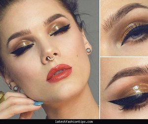 holiday, ideas, and makeup image