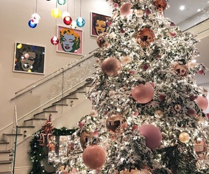 christmas, tree, and kylie jenner image