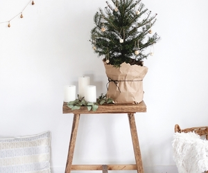 christmas, minimal, and white image