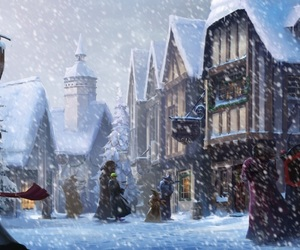 harry potter and hogsmeade image