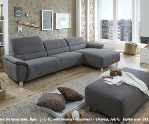 sectional sofa, leather sectional sofa, and sectional sofa-bed image