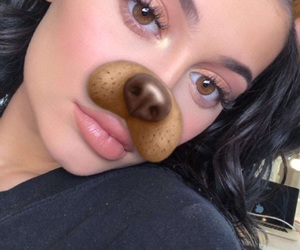 dog, jenner, and kylie jenner image