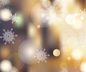 christmas, wallpaper, and snowflake image