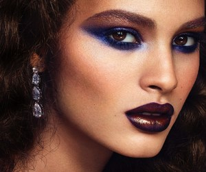 editorial, makeup, and fashion image