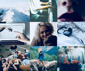 aesthetic, sense8, and riley blue image