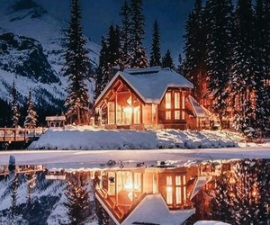 cold, mountains, and cozy image