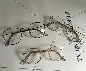 aesthetic, fashion, and glasses image