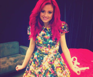 sarah de bono, red hair, and the voice image