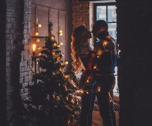 love, christmas, and winter image