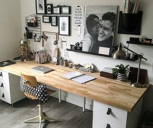 desk and interior image