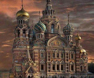 architecture, russia, and church image