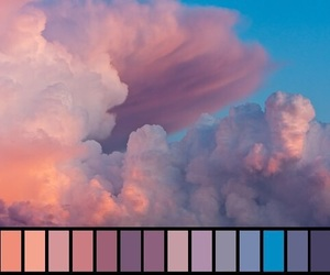 sky, clouds, and colors image