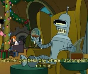 futurama, Bender, and quotes image