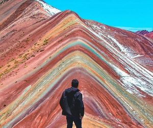 mountains, peru, and colors image