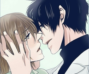 anime, couple, and bl image