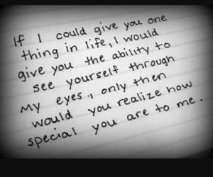 love, quotes, and special image
