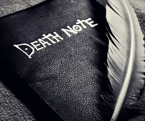 anime, death note, and anime girl image