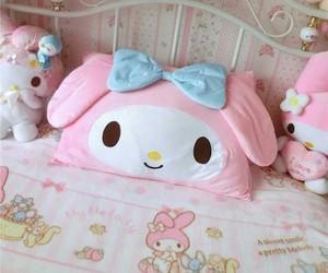 bunny, pink, and kawaii image