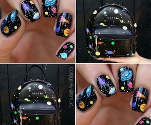 bags, moda, and nails image