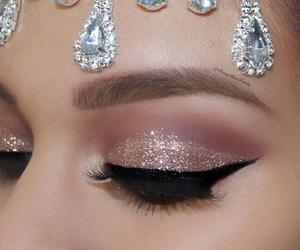 goals, eyeshadow, and makeup image